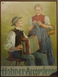 Plakat Hohner Accordeons