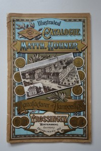 "Warenkatalog ""Illustrated Catalogue Matth. Hohner"""