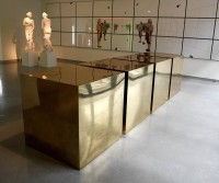 Donald Judd: ohne Titel (Four Brass Boxes)
