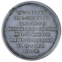 """Medaille auf Philipp Melanchthon 1720/28  Provenance/Rights:  Museum im Melanchthonhaus Bretten (CC BY-NC-SA)"
