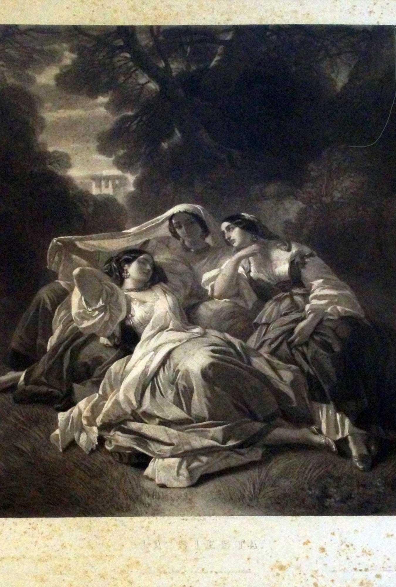 Henry Cousins: La Siesta :: Le Petit Salon - Winterhalter in ...