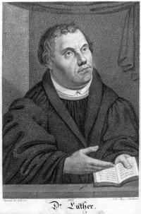 Martin Luther als Doktor