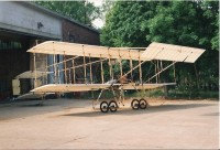 Doppeldecker Farman III Modell 1910