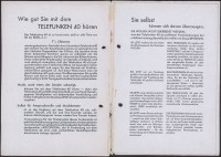 """Werbeprospekt: Telefunken 40  Provenance/Rights:  Stiftung Deutsches Technikmuseum Berlin (CC BY-NC-SA)"