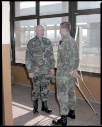 Fotografie: Besuch von Sergeant Major of the Army Glen E. Morrell in ...