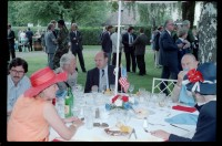 Fotografie: Empfang zum 4th of July im Harnack House in Berlin-Dahlem