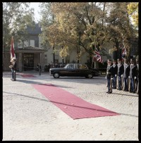Fotografie: Antrittsbesuch von Major General Bernard Gordon Lennox, ...