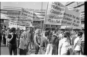 Kleinbildnegativ: Demonstration, 1972