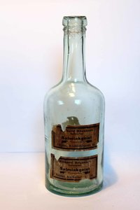Arzt & Apotheker Alte Flasche Bad Ems Vor 1945 Alte Berufe