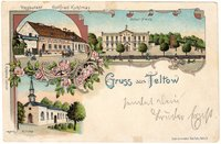 """Gruss aus Teltow, Restaurant Gottfried Kuhlmay  Provenance/Rights:   (CC BY-NC-SA)"