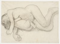 Mother and Child Reclining