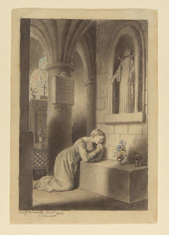 Gebet vor der Datierung Vintage Glasflaschen