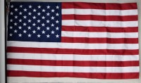 USA-Flagge, original