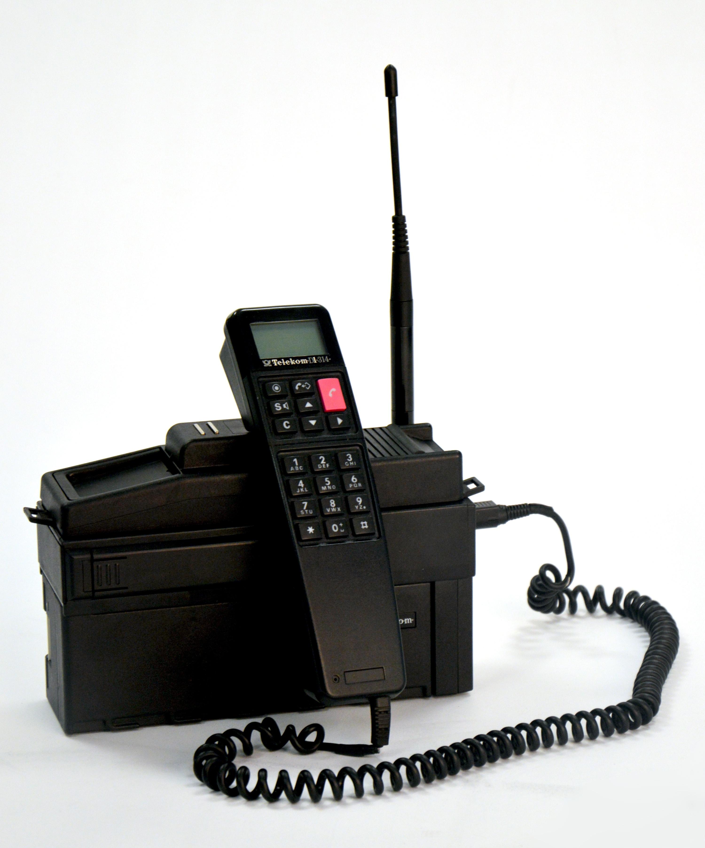 Siemens P1 Portable Telekom D1 314 Heinz Nixdorf Museumsforum