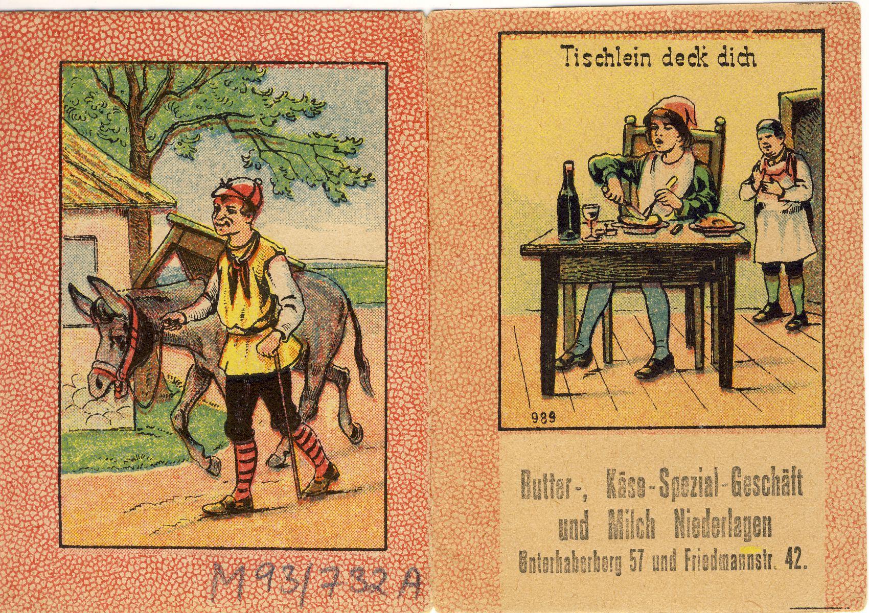tischlein deck dich märchen englisch