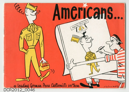 Heft, Americans as leading German Press Cartoonists see them (dc-r docu center ramstein CC BY-NC-SA)