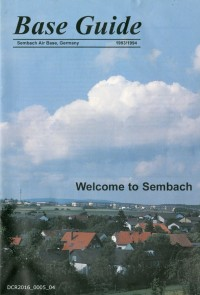 Begrüßungsschrift, Base Guide Sembach Air Base