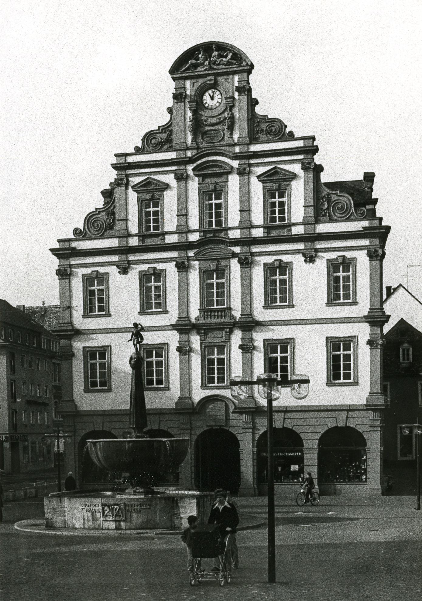 Fotografie Maximilianstraße Alte Münze Iii Historisches