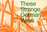 Buch, These Strange German Ways