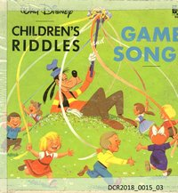 Langspielplatte, LP, Children's Riddles and Game Songs