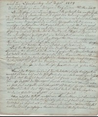 """Predigt Pastor Fey im Januar 1809  Provenance/Rights:  Heimatmuseum und -Archiv Bad Bodendorf (CC BY-NC-SA)"