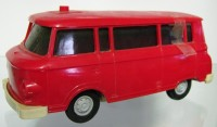 Barkas B1000 Bus in Farbe Rot