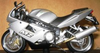 MZ 1000 S als Modell 1:18 in Farbe Silber