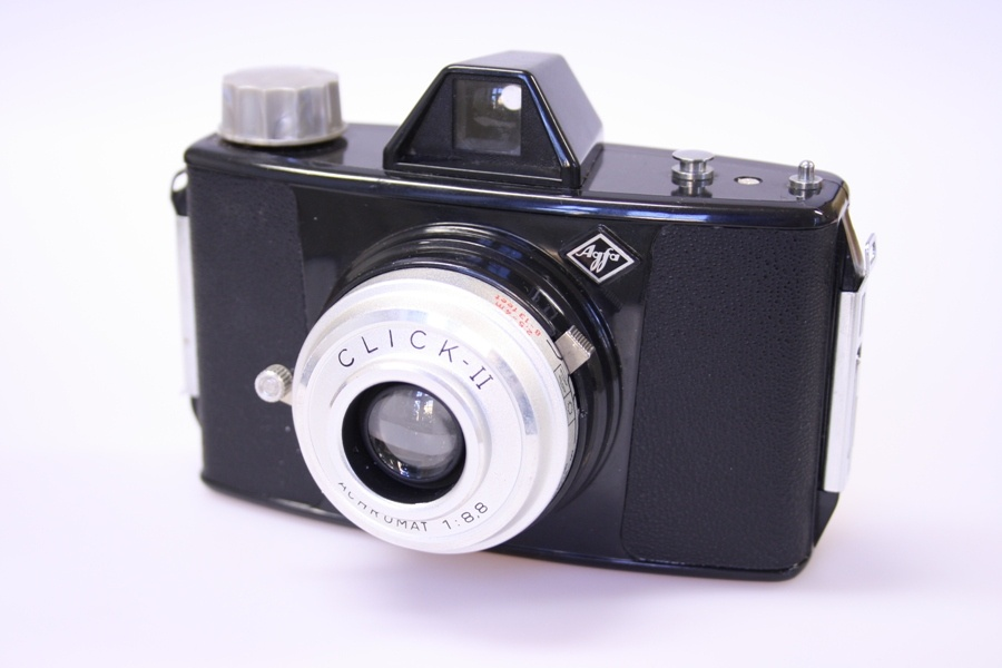 Agfa Click II (Industrie- und Filmmuseum Wolfen CC BY-NC-SA)