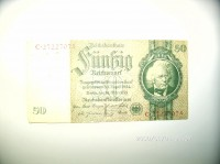 """Reichsbanknote 50 Reichsmark  Provenance/Rights:  Museum Petersberg (CC BY-NC-SA)"