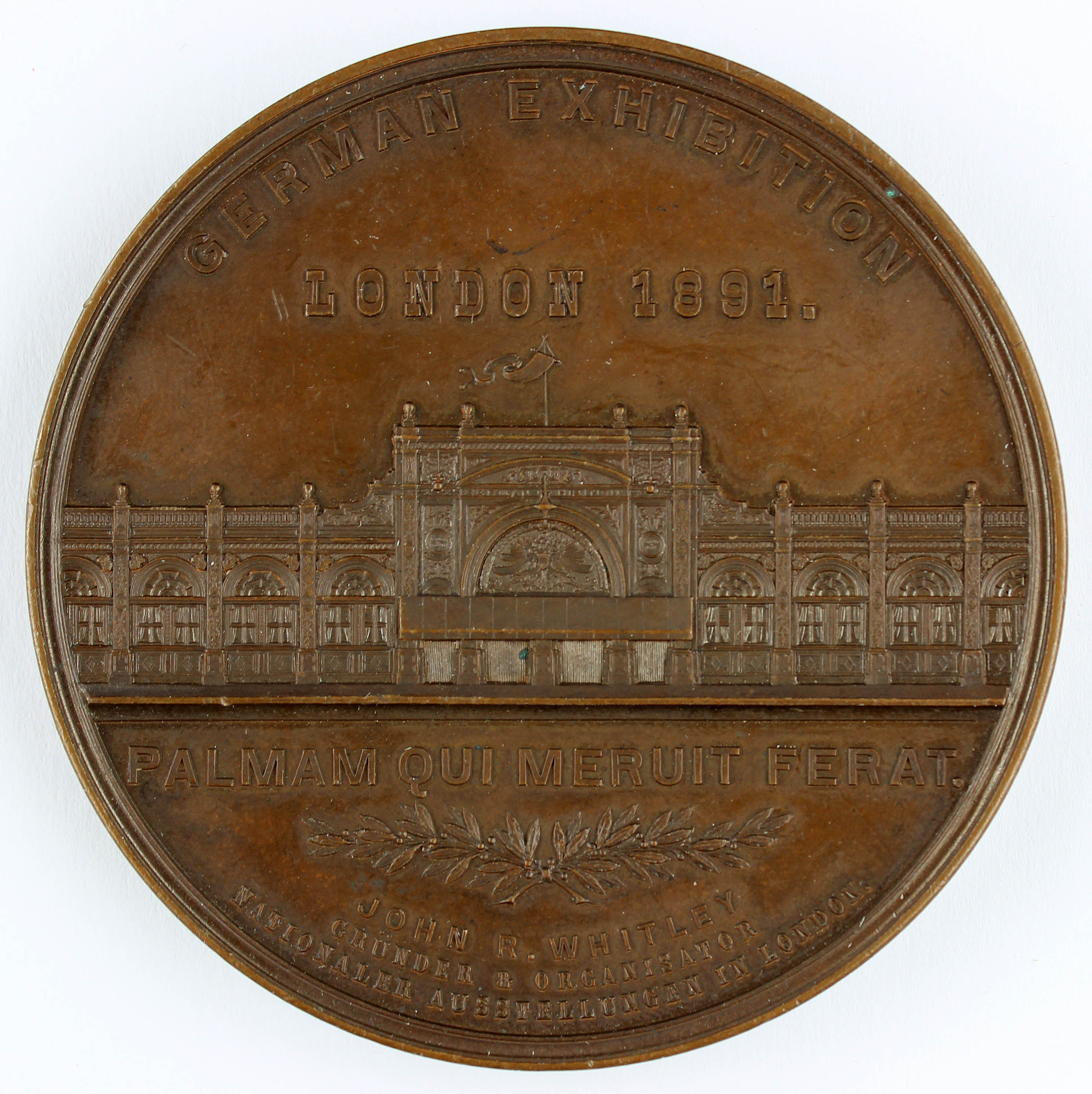 Medaille, German Exibition, 1891 (Museum Wolmirstedt RR-F)