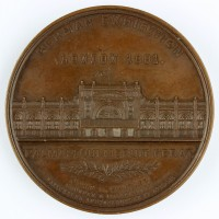 """Medaille, German Exibition, 1891  Provenance/Rights:  Museum Wolmirstedt (RR-F)"
