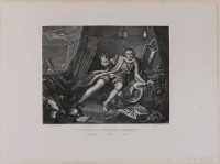 Garrick in der Rolle Richard III