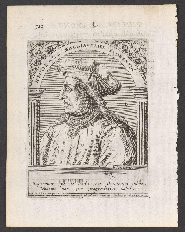 Porträt Niccolò Machiavelli (1469 - 1527) :: Stiftung Händel-Haus Halle ::  museum-digital:deutschland