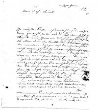 Brief J. J. Spaldings an J.W.L. Gleim vom 8.03.1748