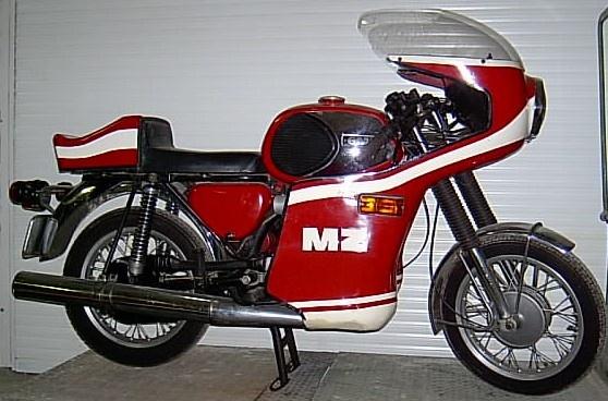 Motorrad MZ TS 250 Umbau Rennv...